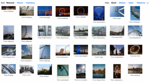 Photos of the London Eye