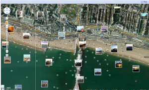 Google streetview with photos